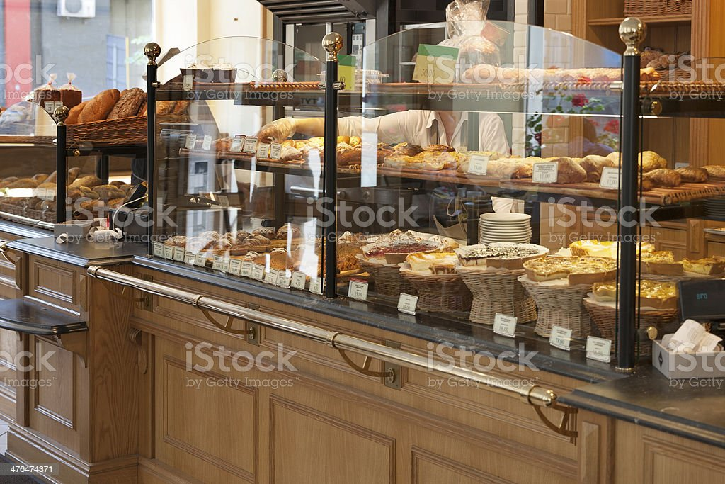 Bakery stock photo