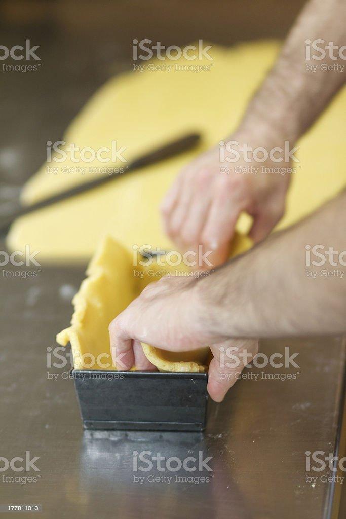 bakery - San Guadenzio bread royalty-free stock photo