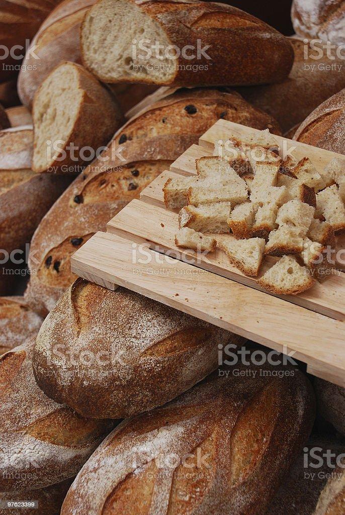 Bakery tray royalty-free stock photo