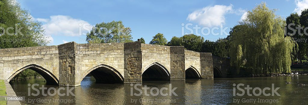 Bakewell Bridge royalty-free stock photo