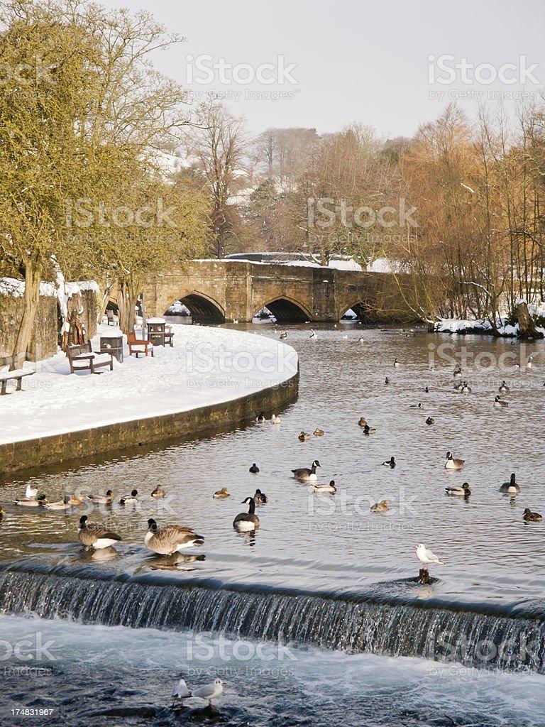 Bakewell Bridge stock photo