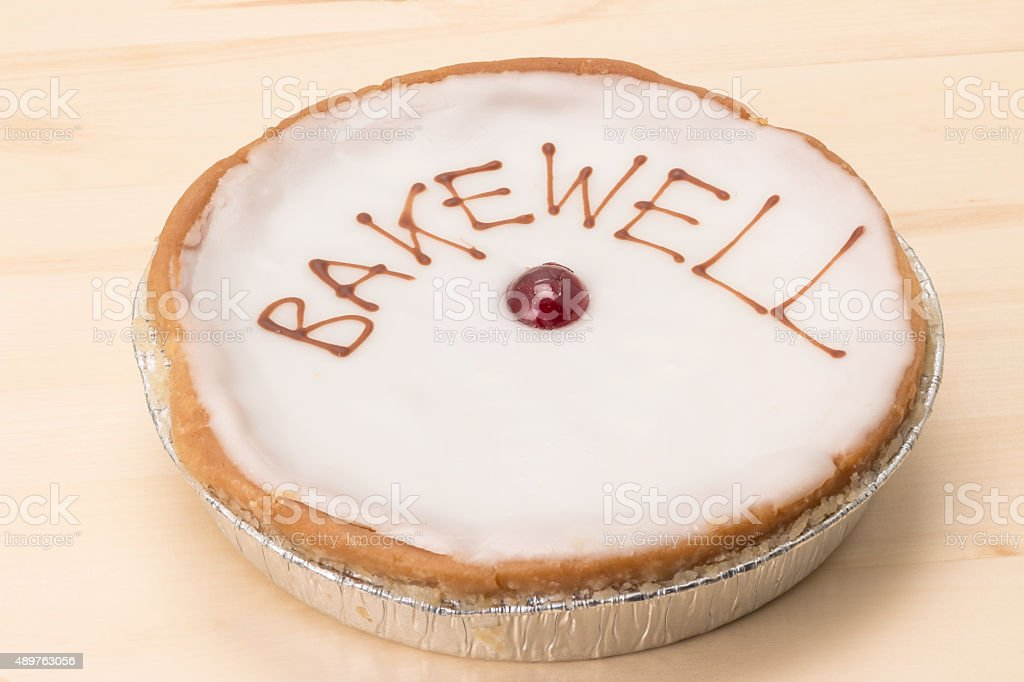 Bakewell tart stock photo