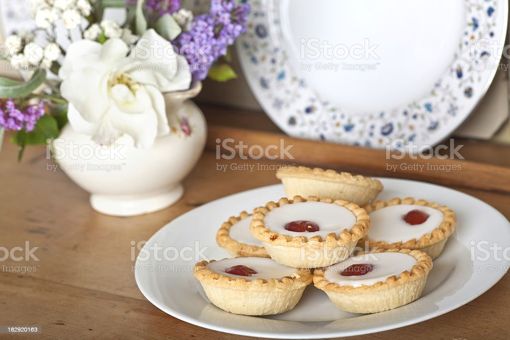 Bakewell Tarts stock photo