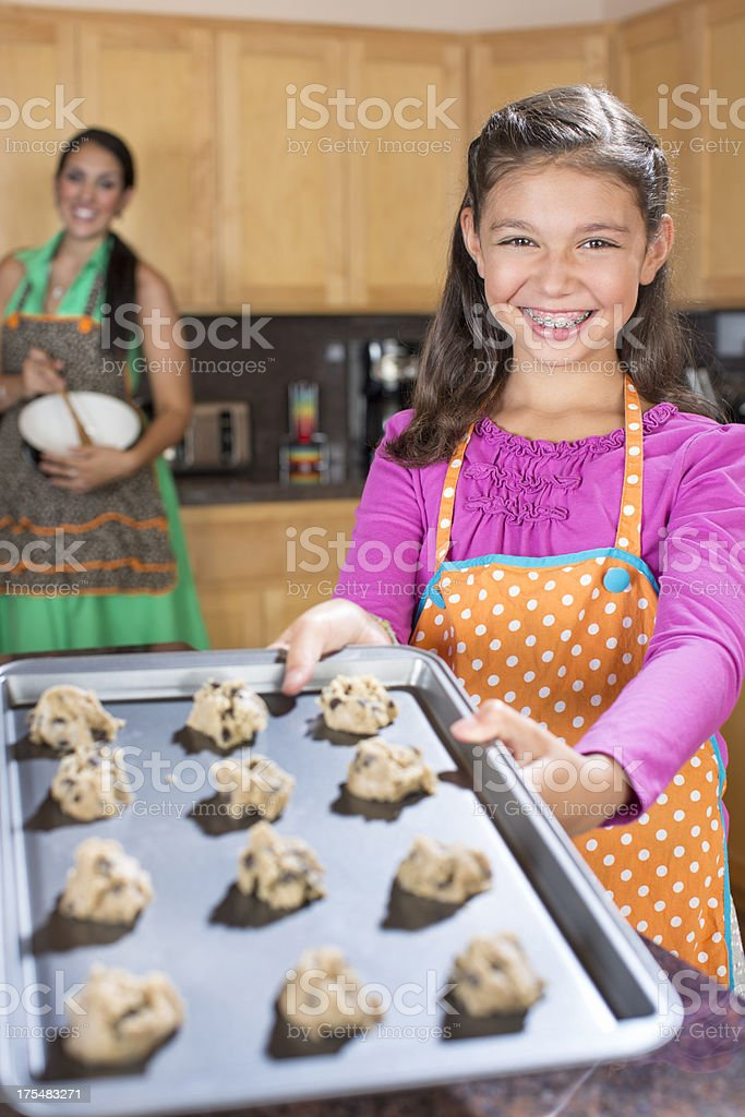 Baking Cookies stock photo