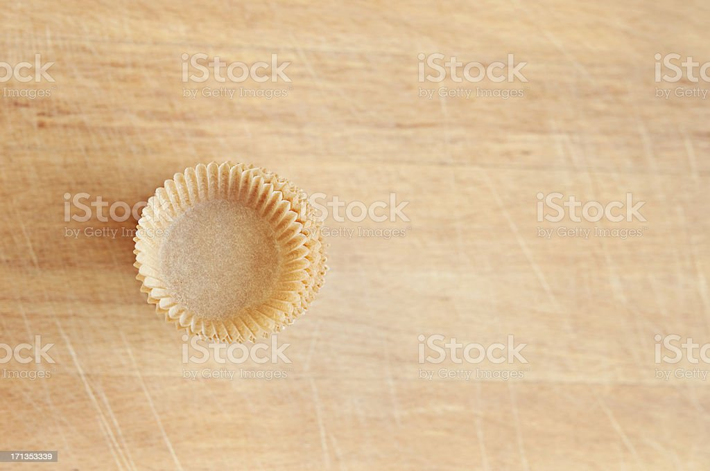 Baking Cups royalty-free stock photo