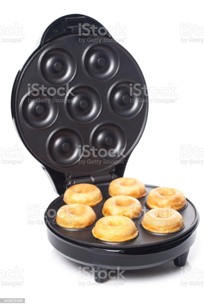 Baking donuts stock photo