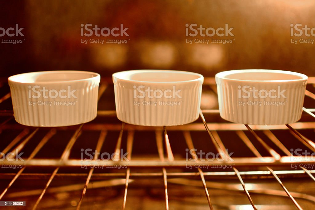 Baking in the Oven stock photo