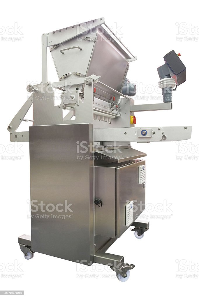 baking machine stock photo