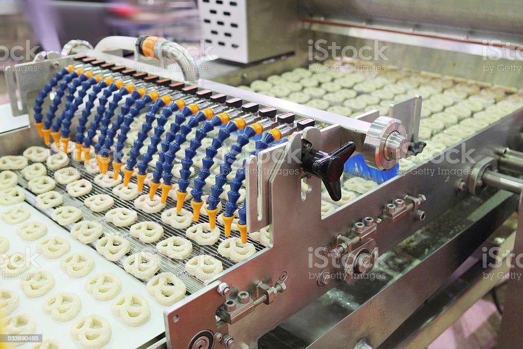 baking machine stock photo