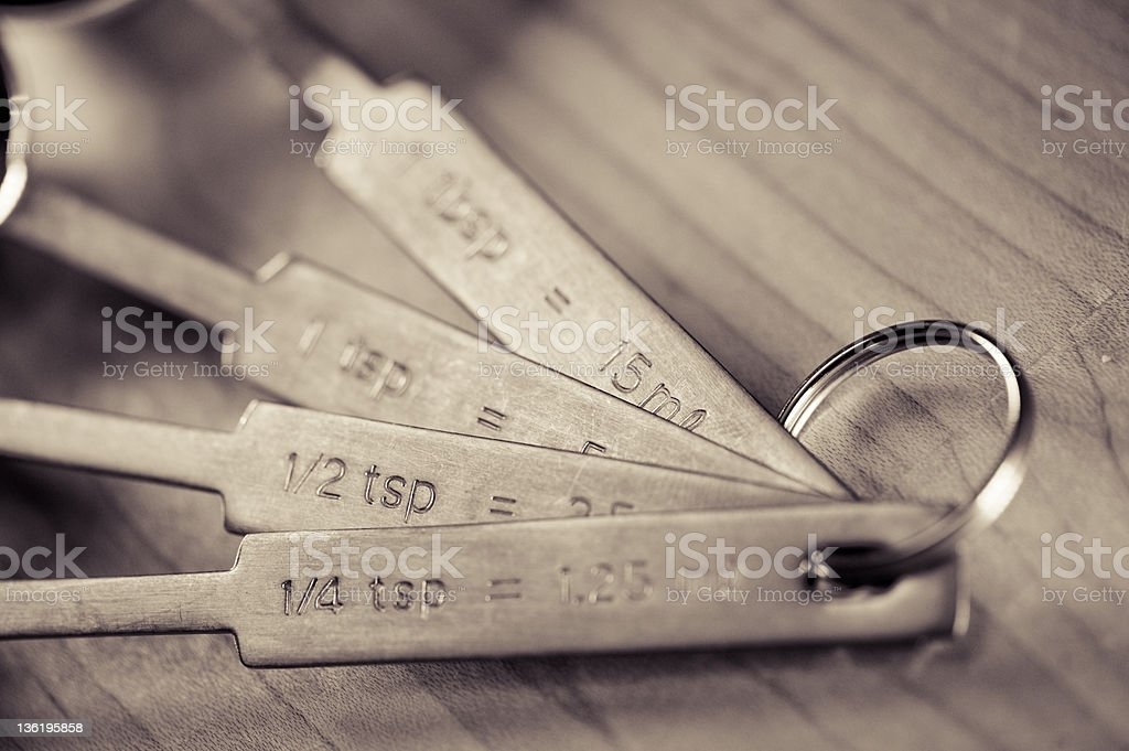 Baking Measurements stock photo