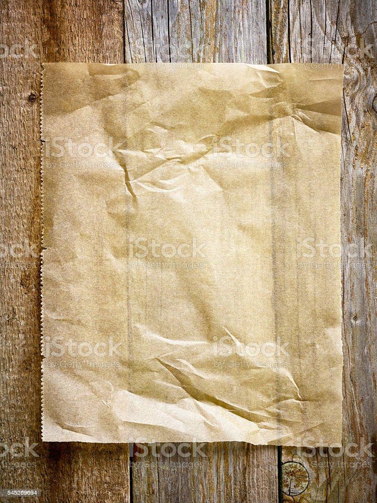 baking paper sheet stock photo