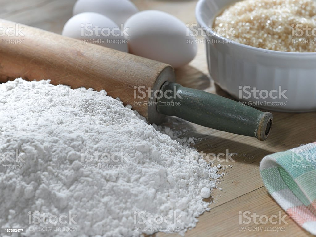 Baking royalty-free stock photo