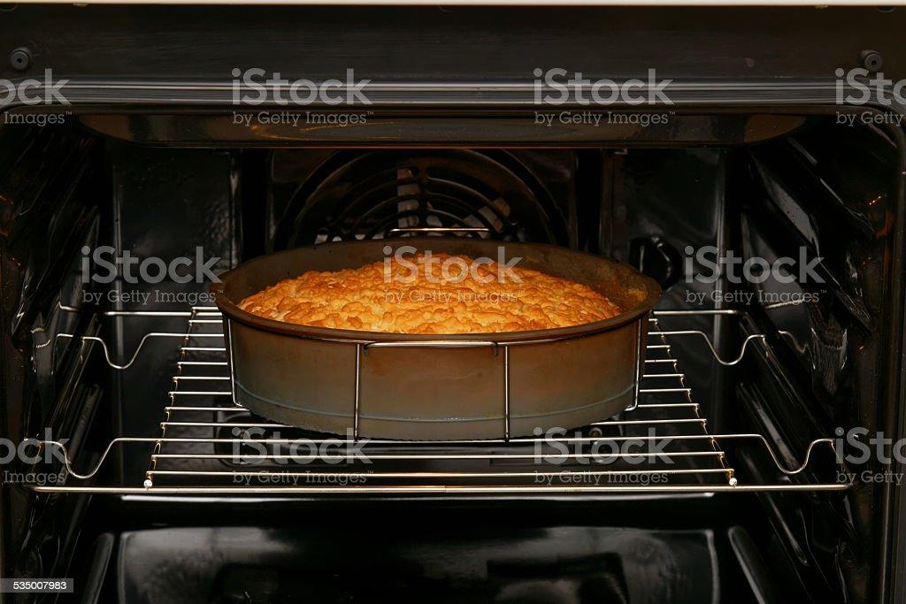 Baking pie stock photo