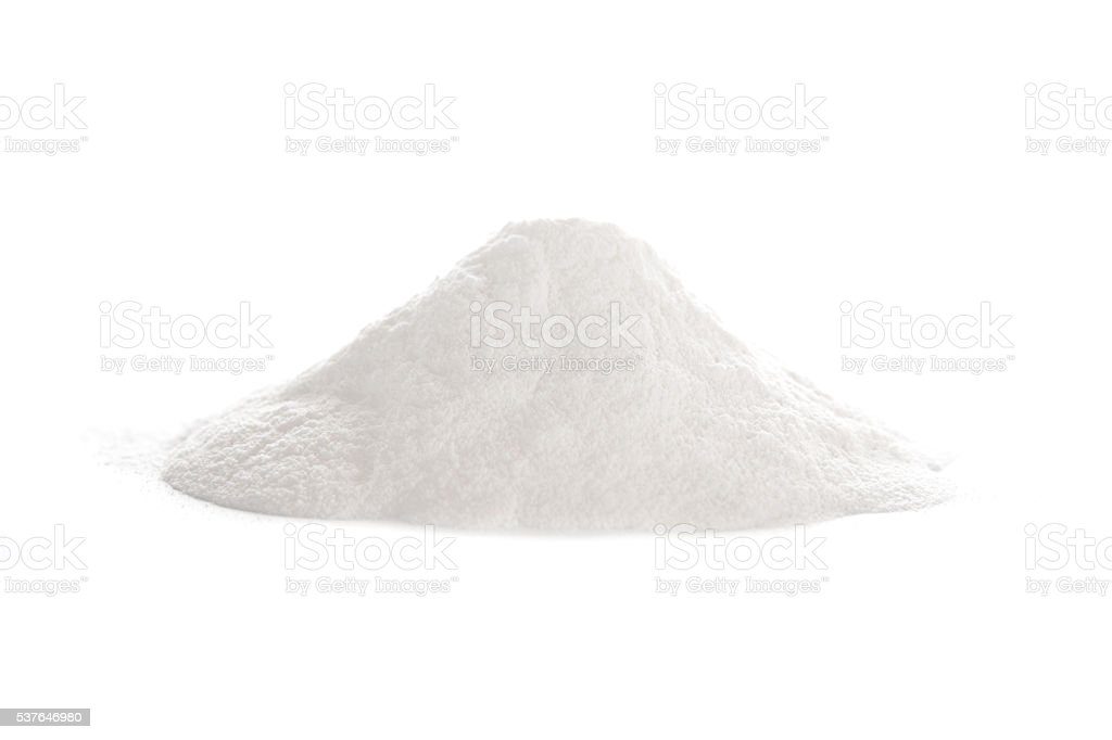 Baking powder stock photo