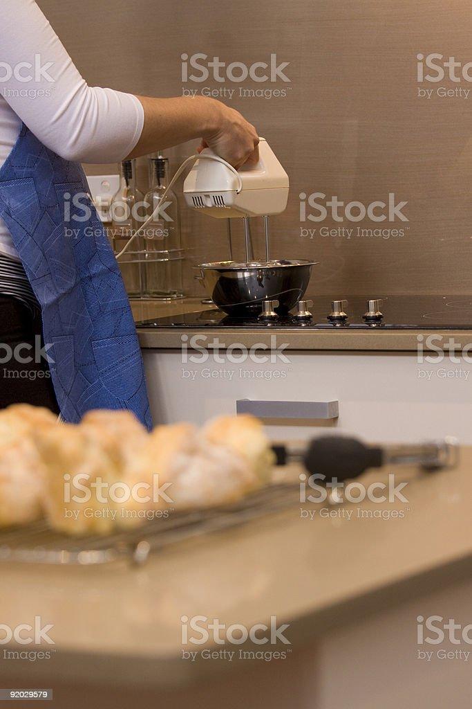 Baking Scones royalty-free stock photo