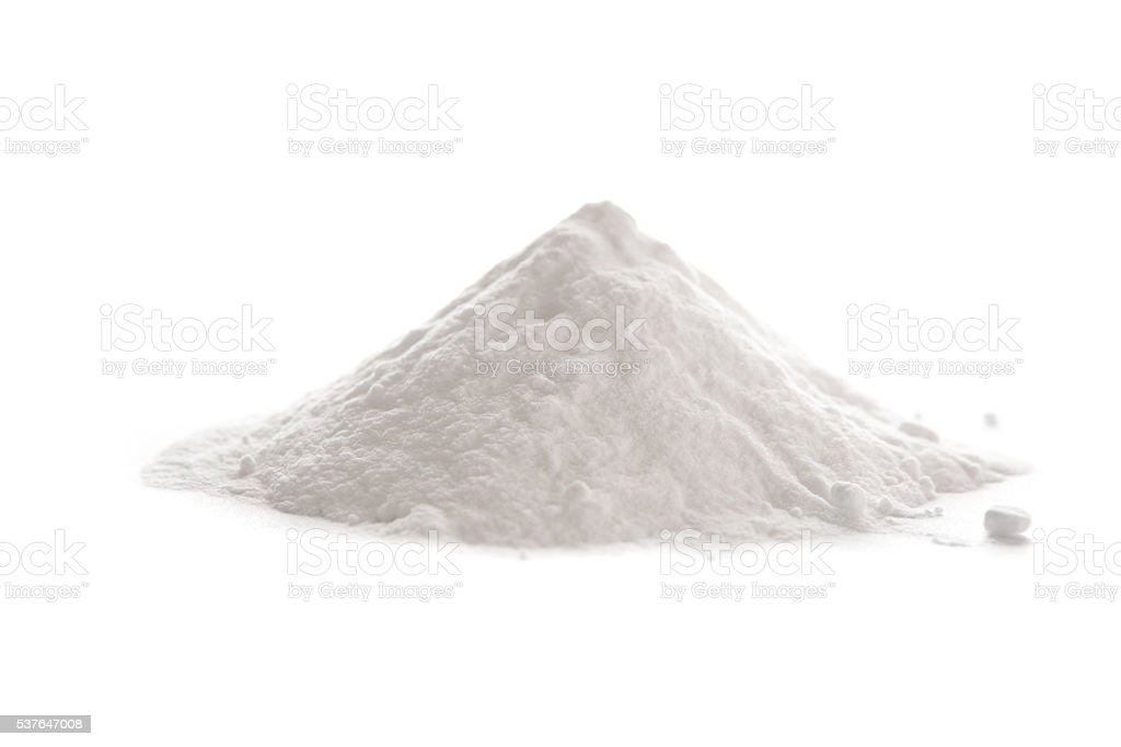 Baking soda, Sodium bicarbonate stock photo