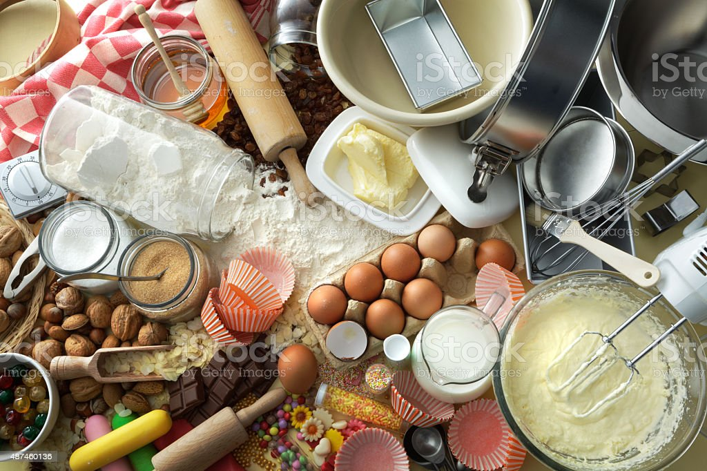 Baking Stills: Abundance stock photo