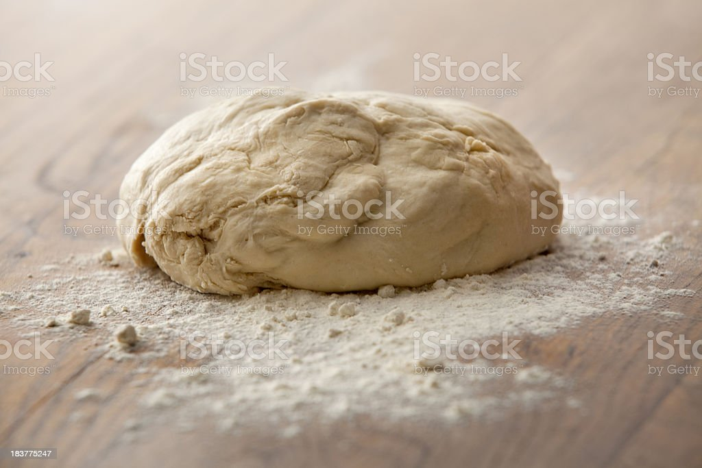 Baking Stills: Dough royalty-free stock photo