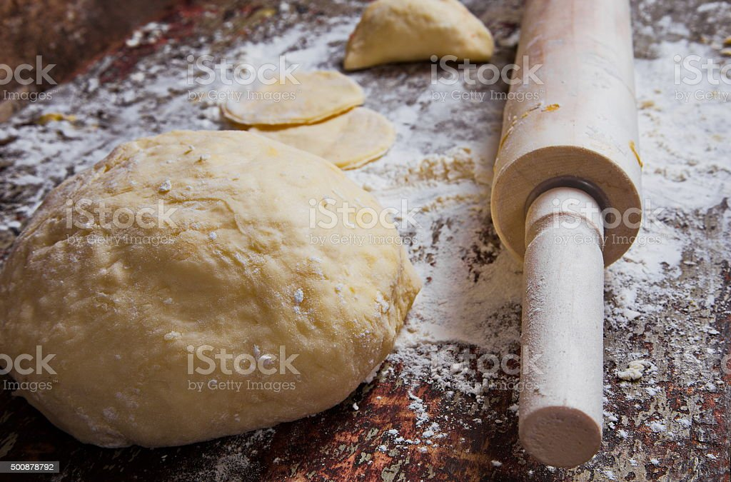 baking stuff closeup stock photo