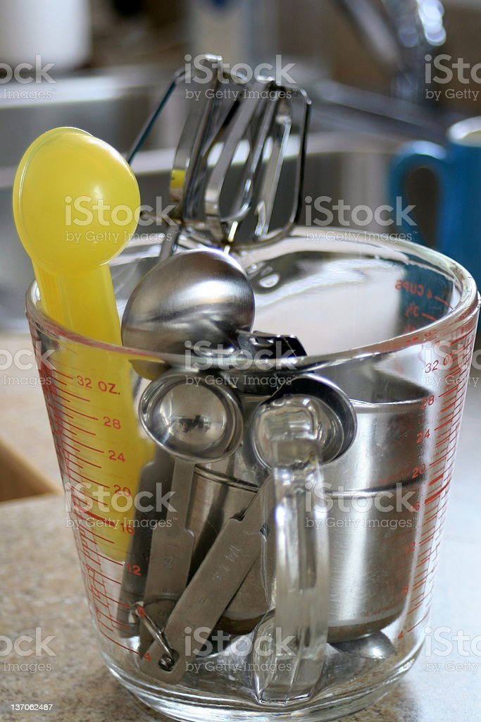 Baking utensils royalty-free stock photo