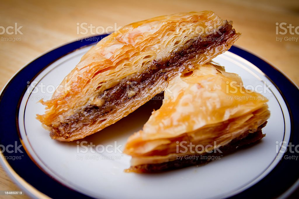 Baklava royalty-free stock photo
