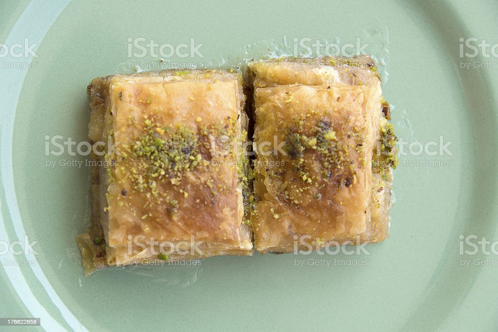 baklava sweet royalty-free stock photo