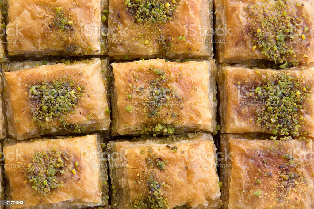 baklava sweet royalty-free stock photo