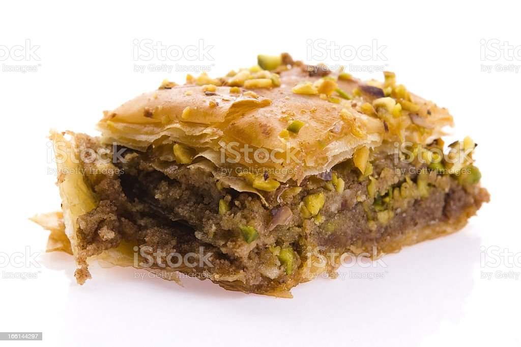 Baklava - traditional middle east sweet dessert royalty-free stock photo