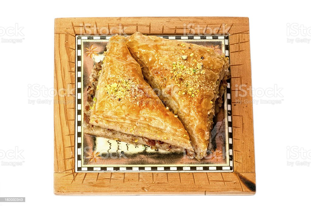 Baklava, traditional middle east sweet royalty-free stock photo