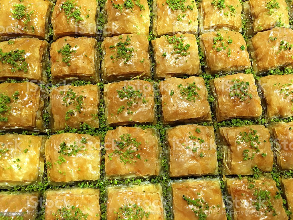 Baklava-Baklawa stock photo