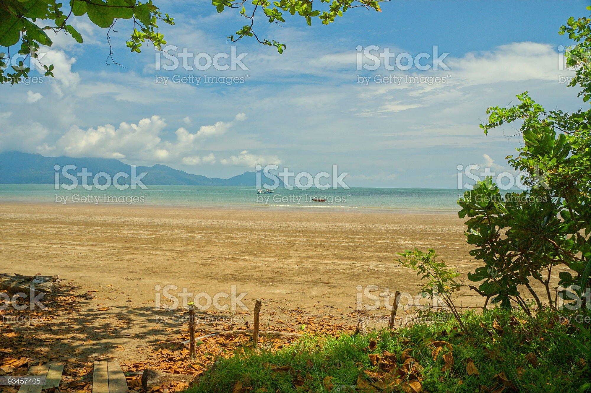 Bako Seaview royalty-free stock photo