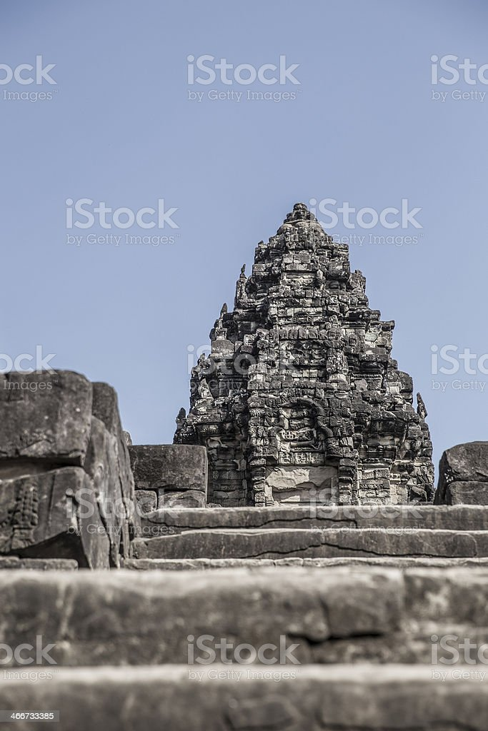 Bakong Temple, Angkor stock photo