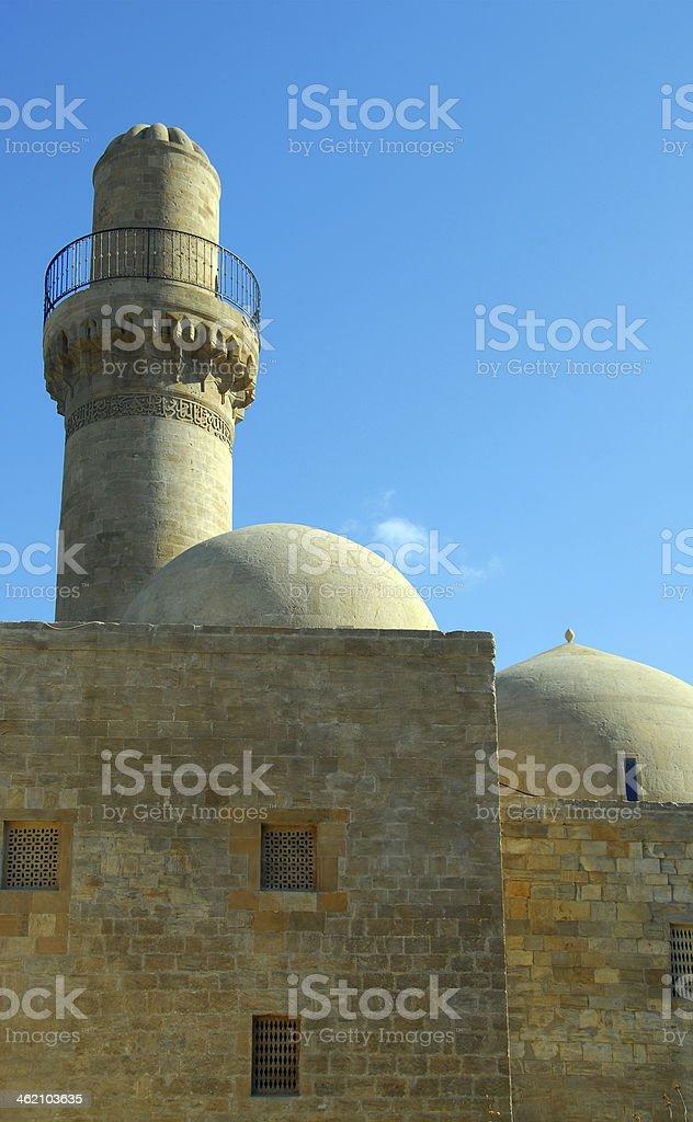 Baku, Azerbaijan: Royal Mosque stock photo
