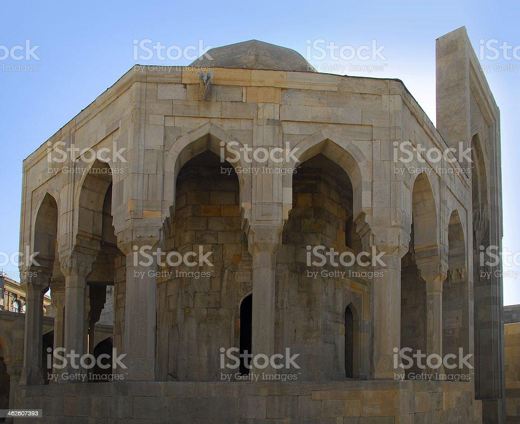 Baku, Azerbaijan: Shirvan Shah's palace stock photo