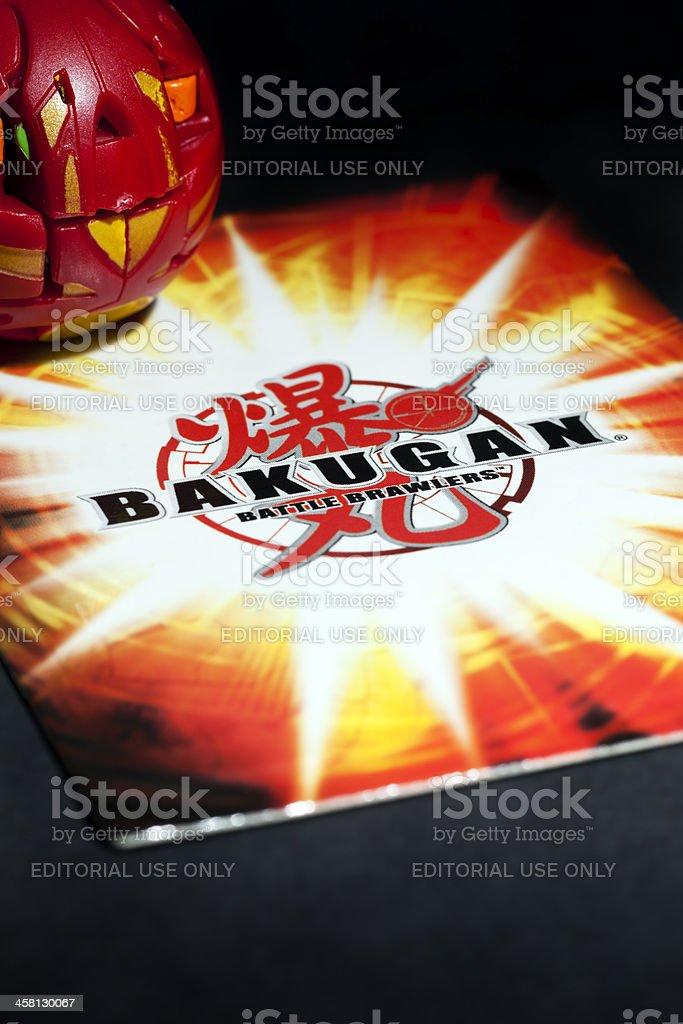 Bakugan Battle Brawler stock photo