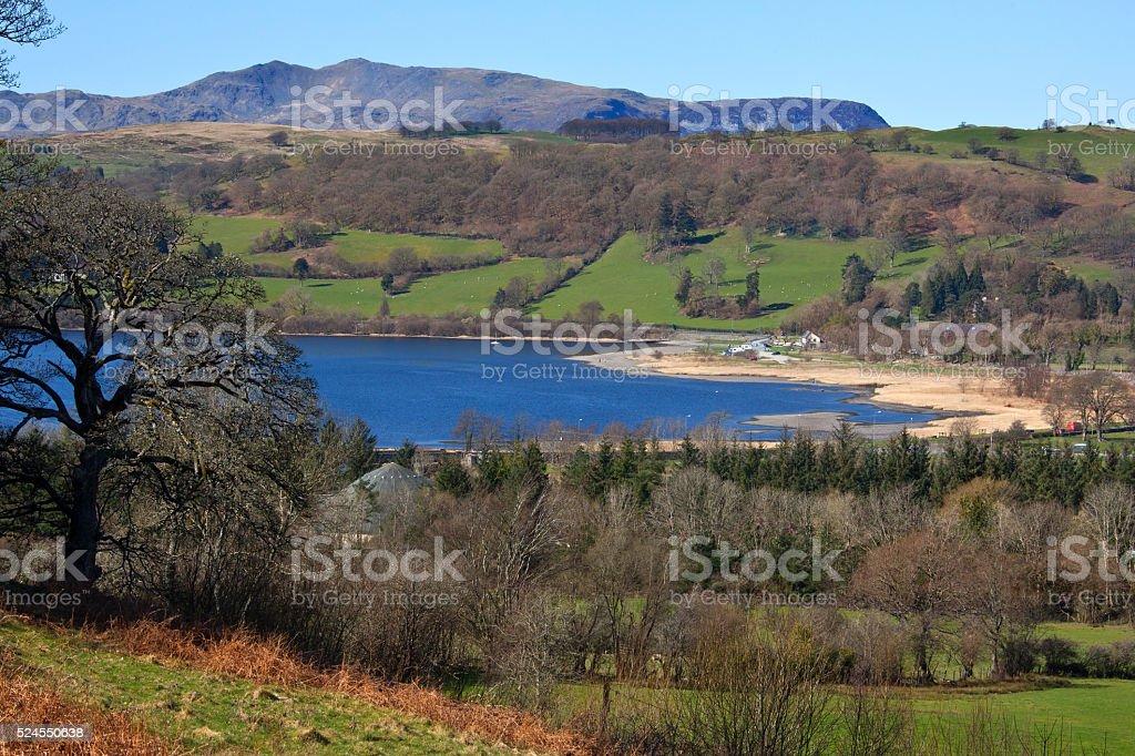 Bala Lake - Gwynedd - Wales stock photo