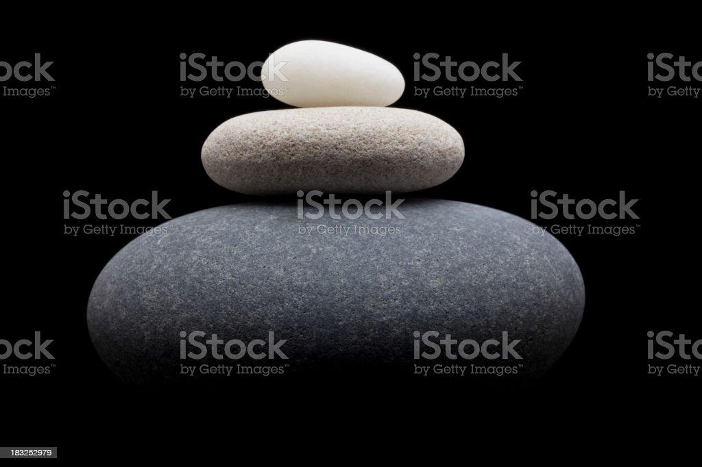 Balance and near symmetry royalty-free stock photo