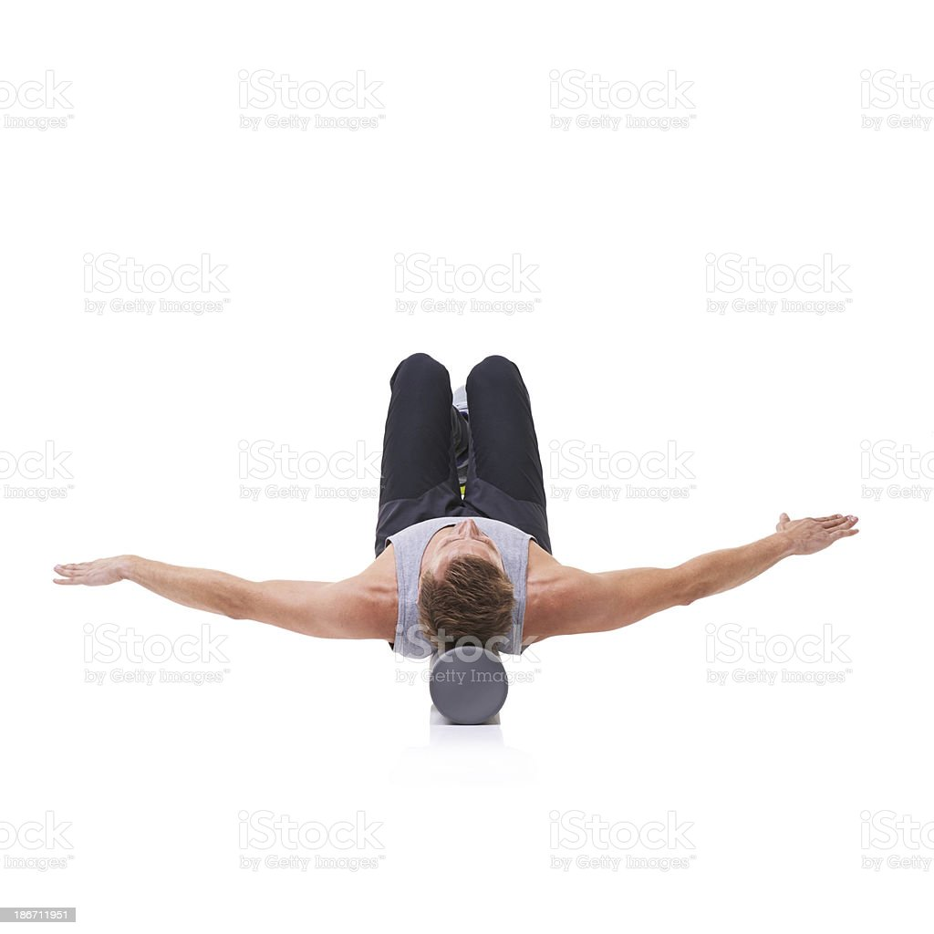 Balance and poise royalty-free stock photo