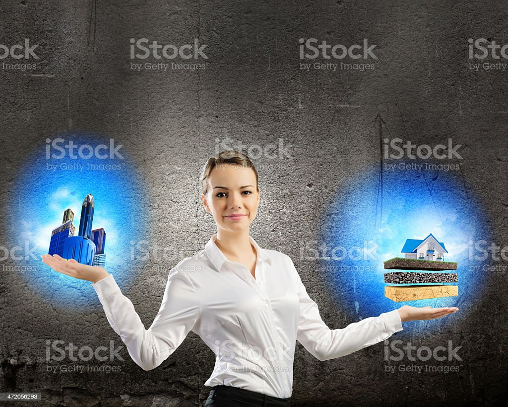 Balance concept royalty-free stock photo