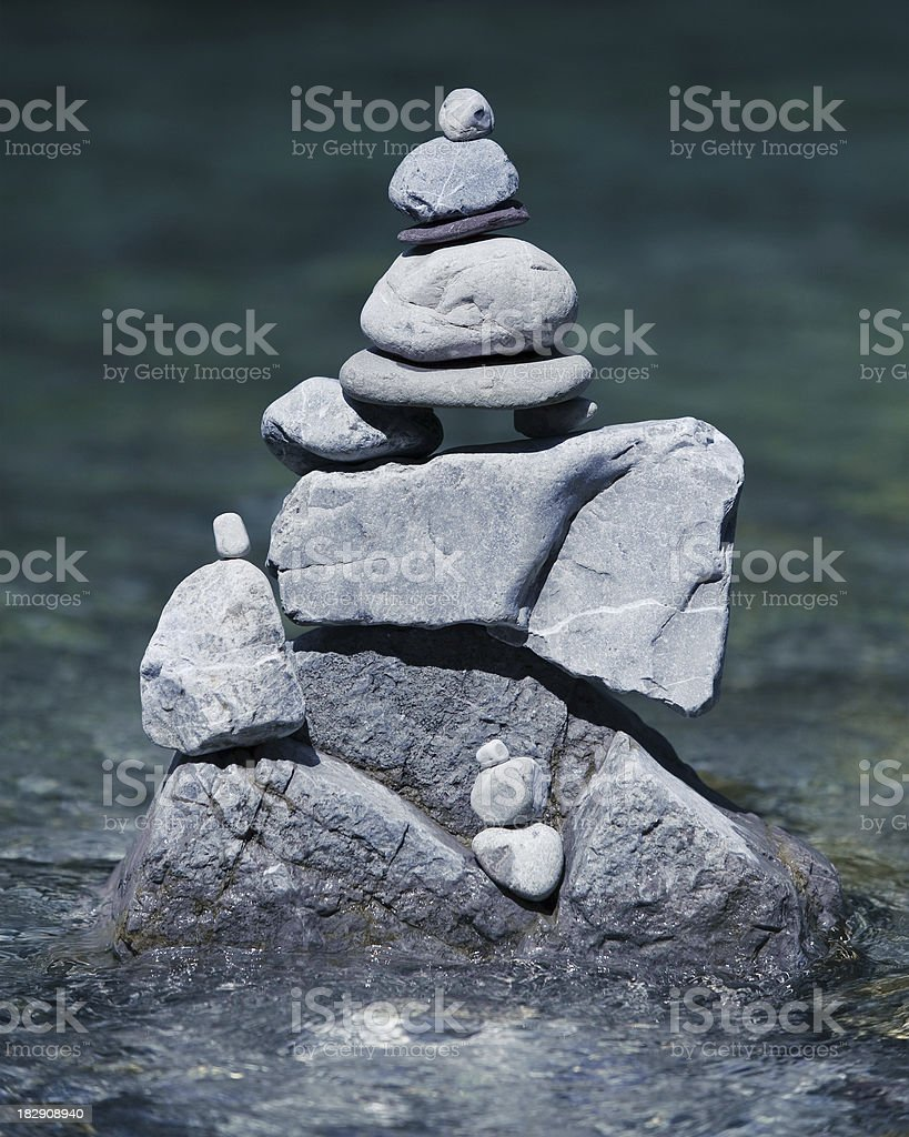 balance in nature royalty-free stock photo