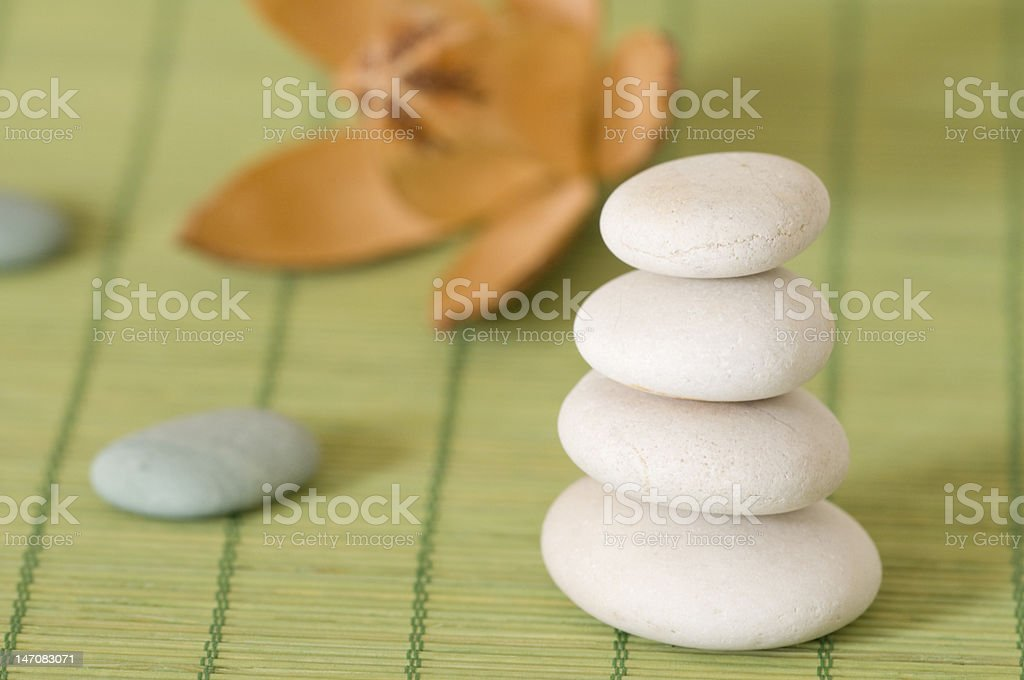 Balance in your life royalty-free stock photo