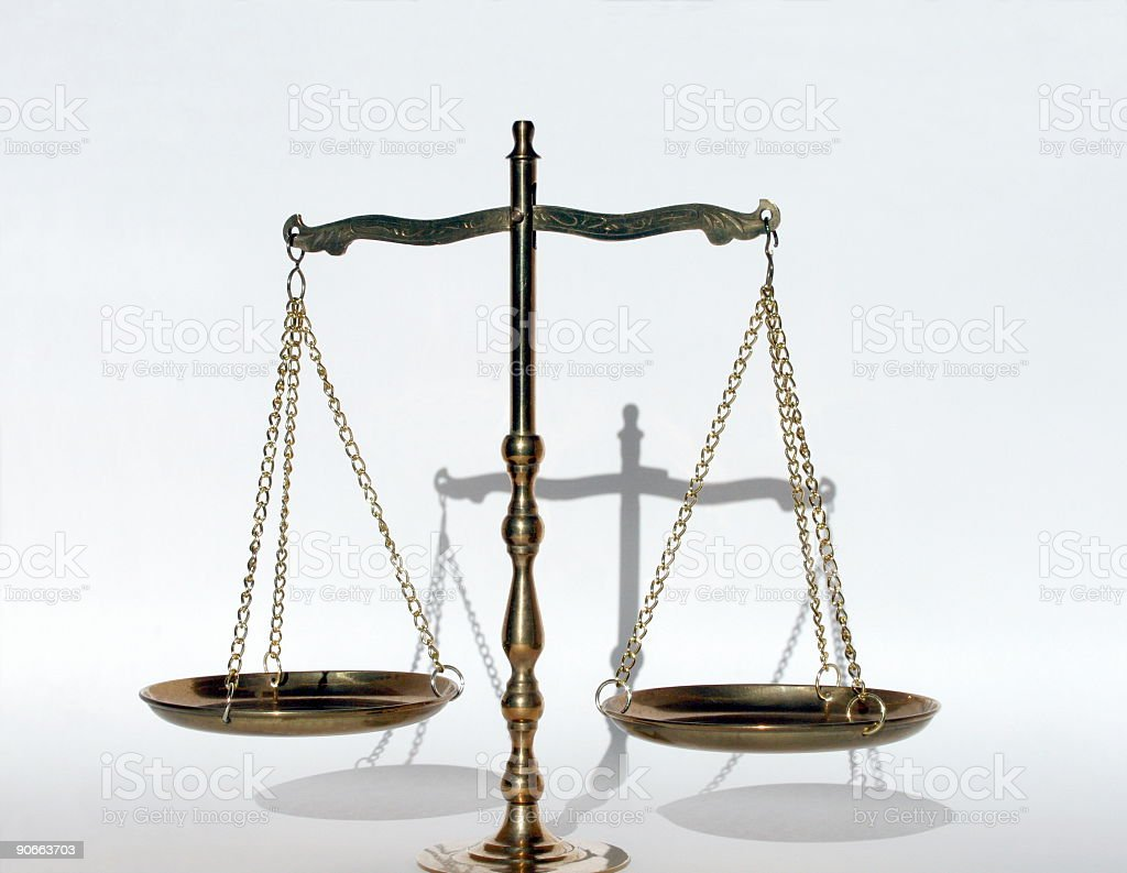 Balance, Justice, Libra 5 royalty-free stock photo