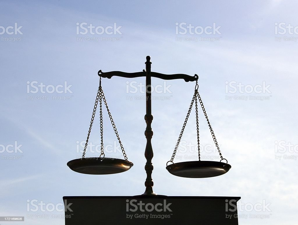 Balance, Justice, Libra , Book stock photo