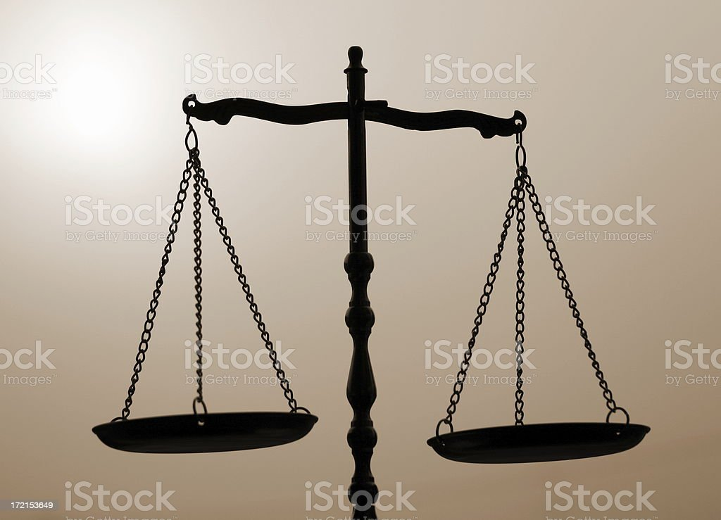 Balance, Justice, Libra royalty-free stock photo