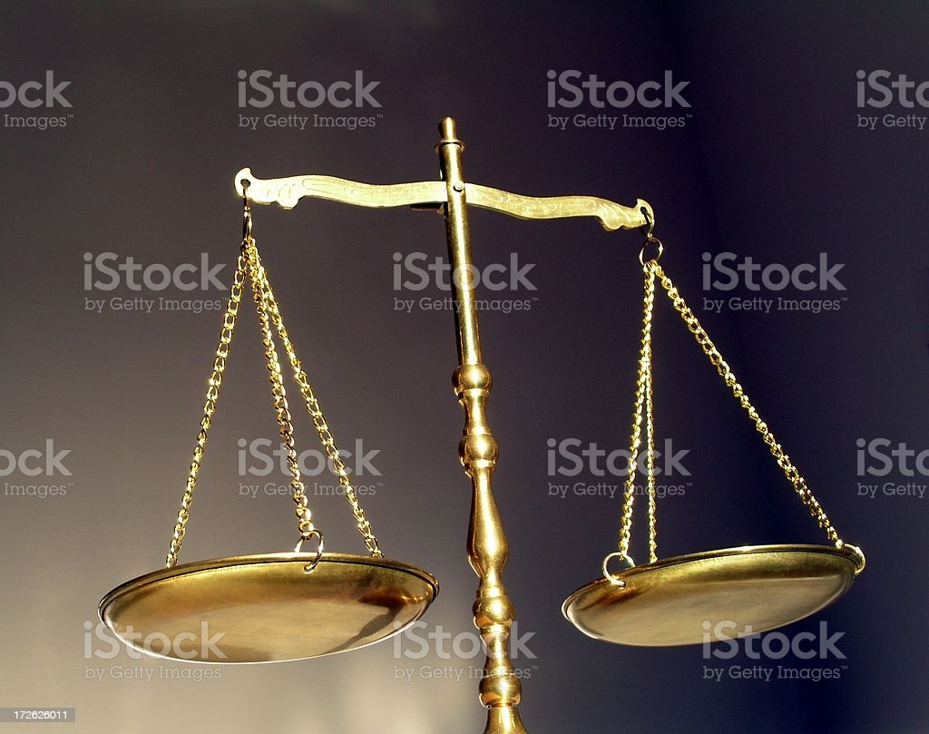 Balance, Justice, Libra, Scales royalty-free stock photo
