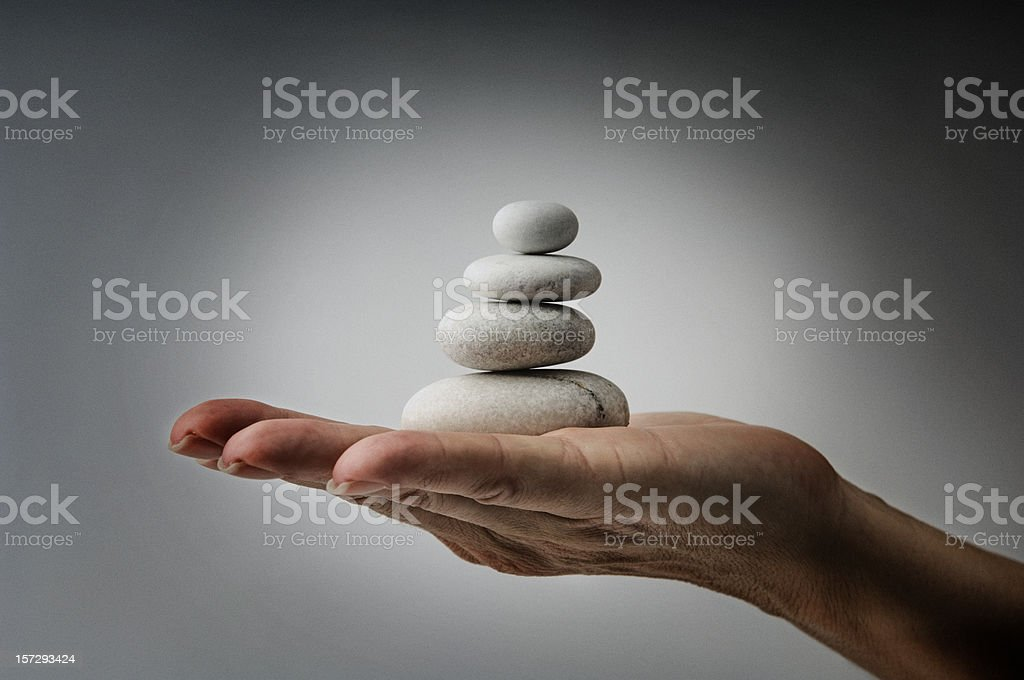 Balance of nature royalty-free stock photo