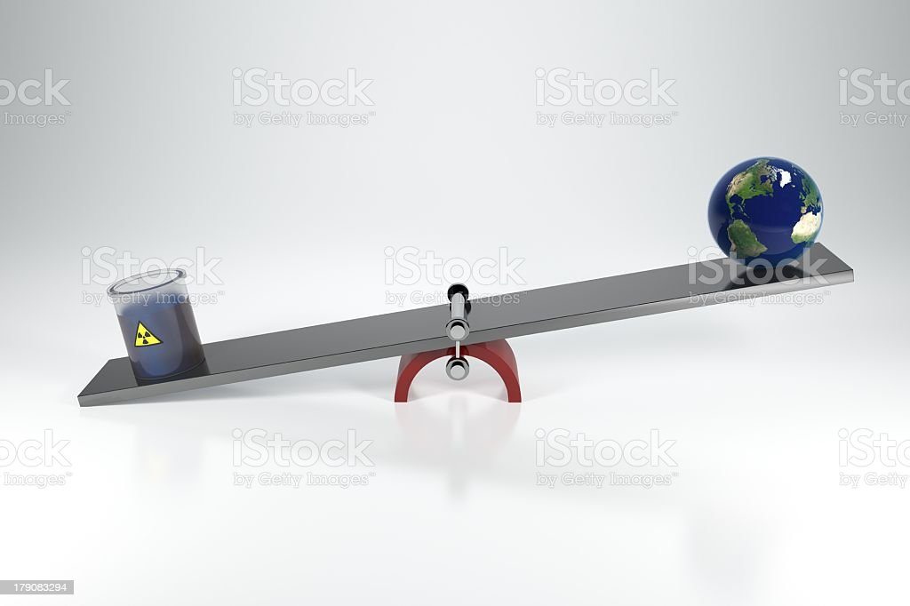 Balance of the Earth royalty-free stock photo