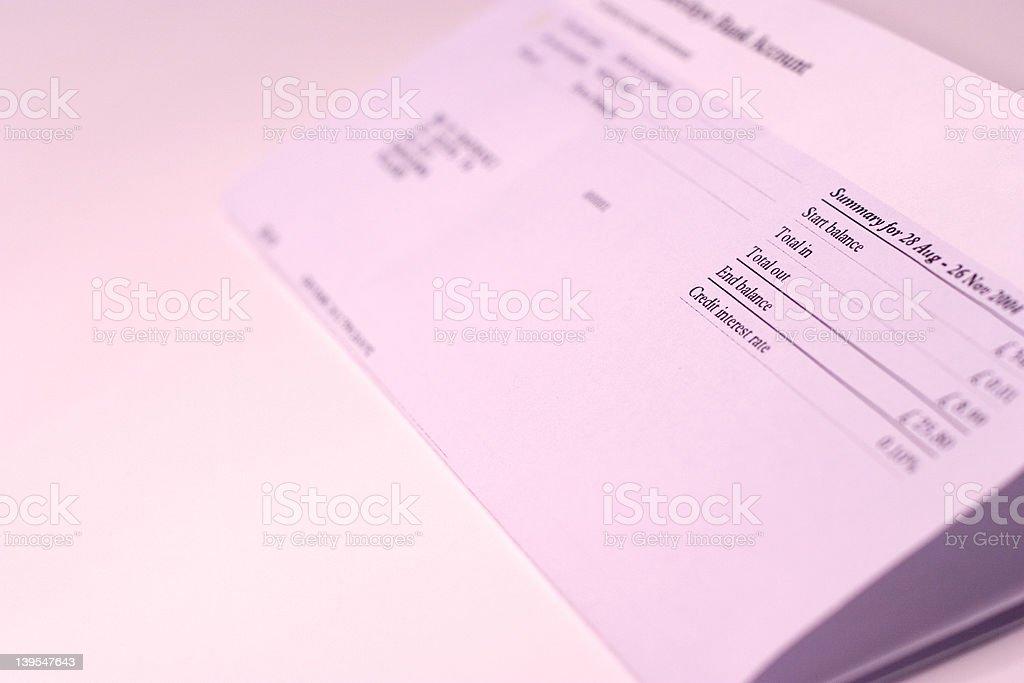balance sheet royalty-free stock photo