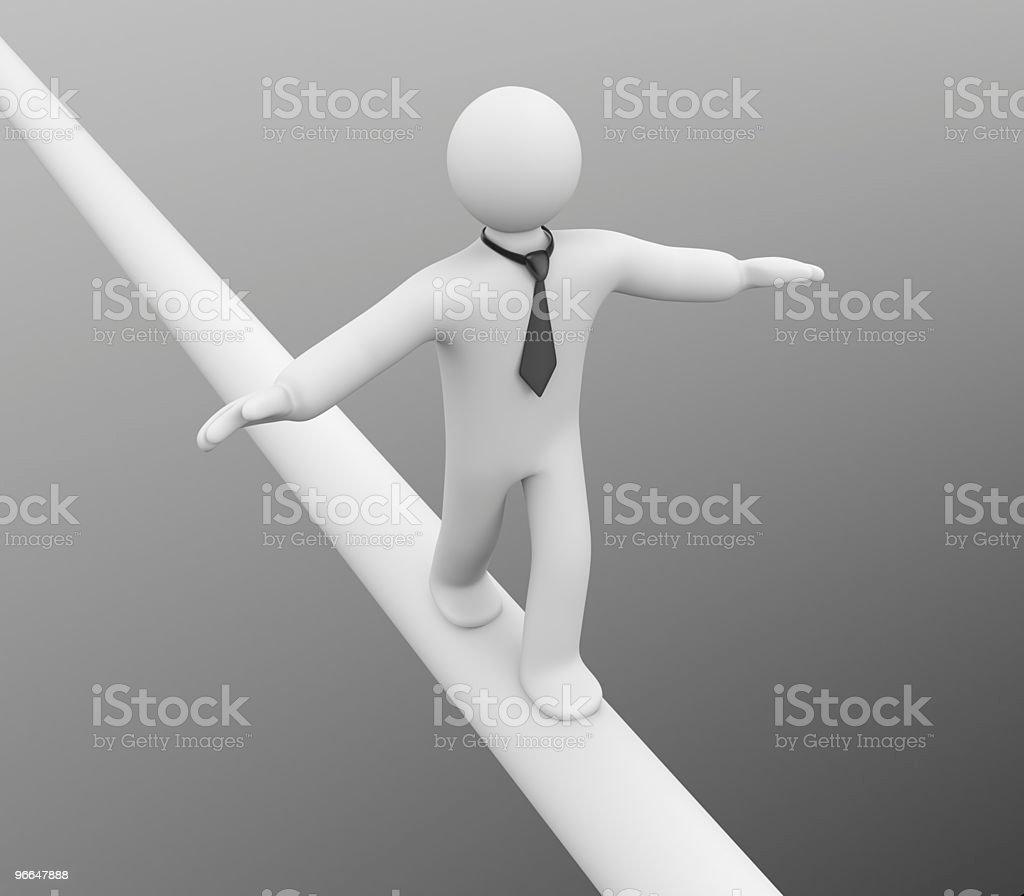 Balance. Success concept royalty-free stock photo