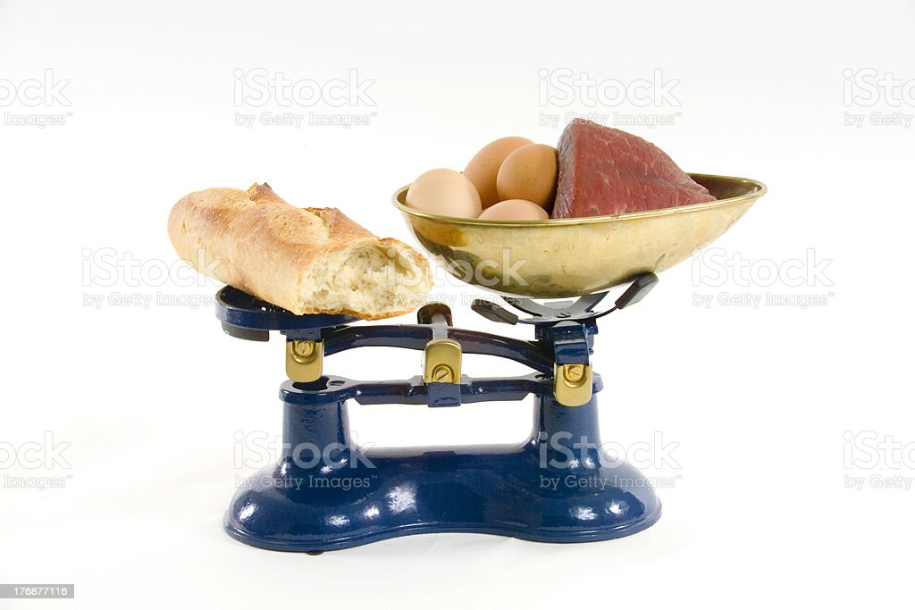Balanced diet royalty-free stock photo